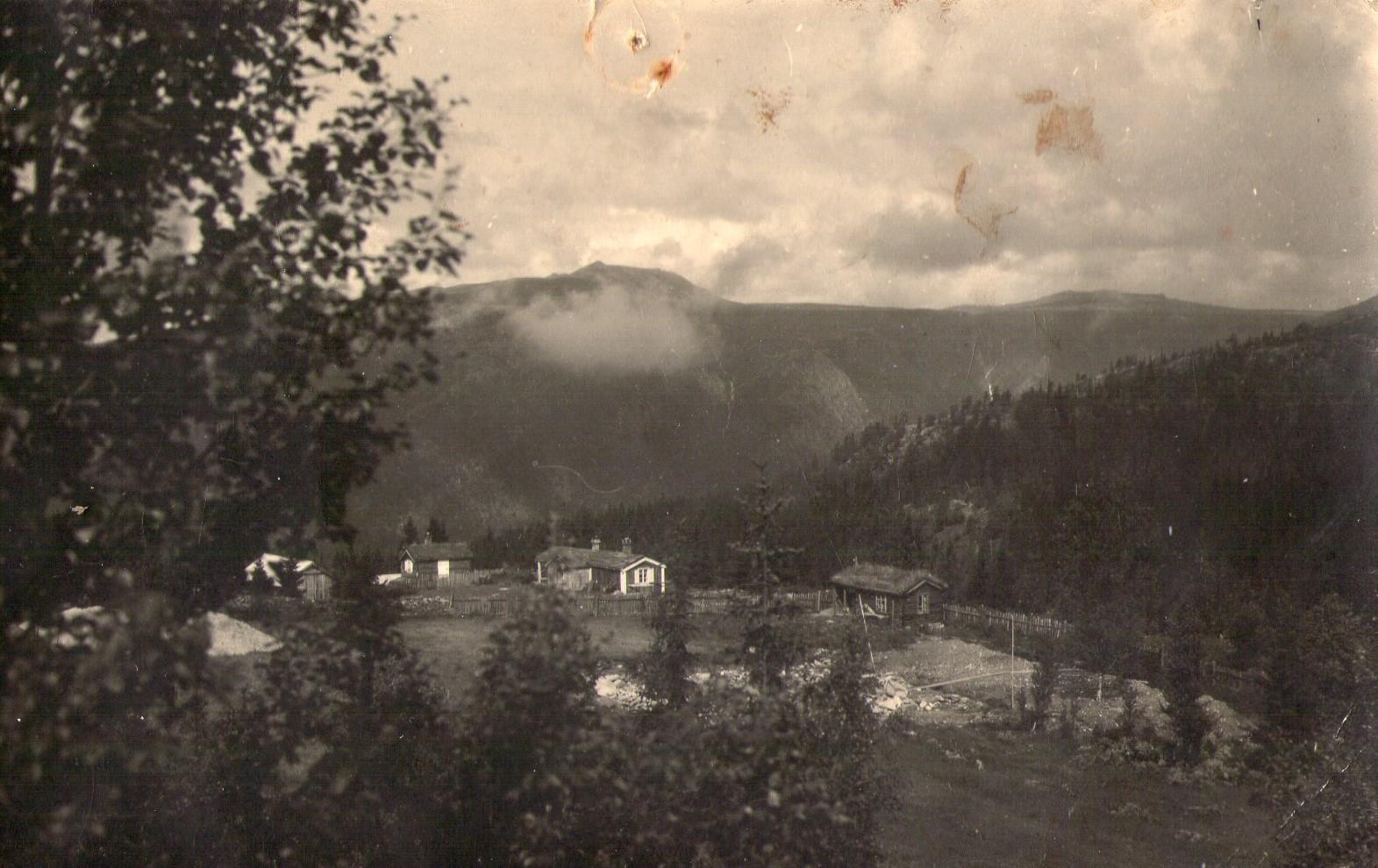 Finsletthaugen på Mysuseter i 1930-årene