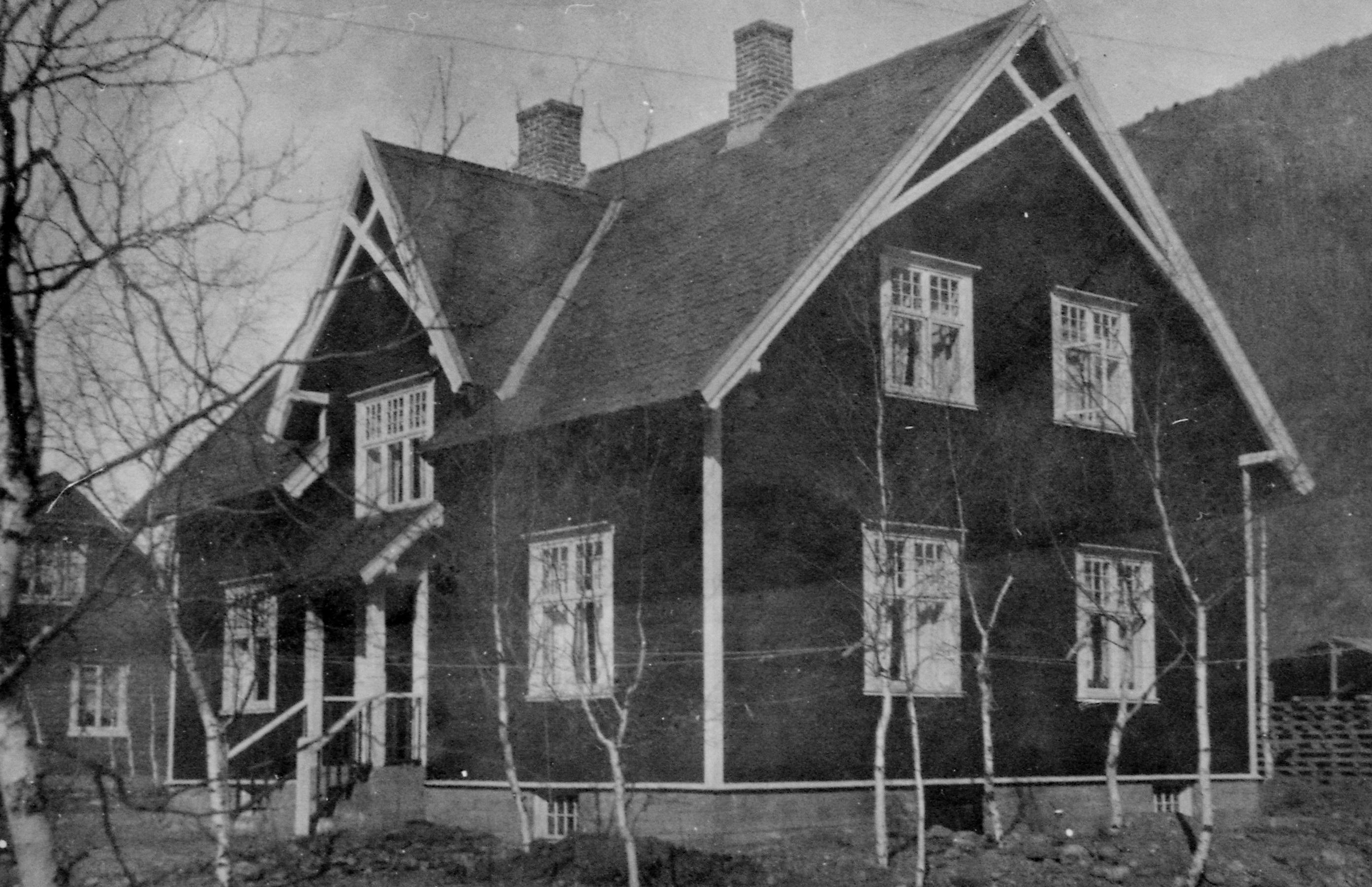 Dette er Kjønnaasvillaen i Otta gamle sør.