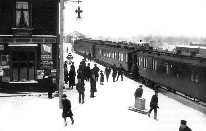Otta stasjon 1913