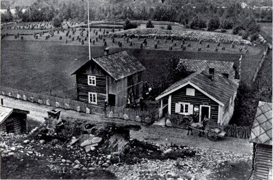 Dette er et bidle av Erlandsstugu på Selsverket.