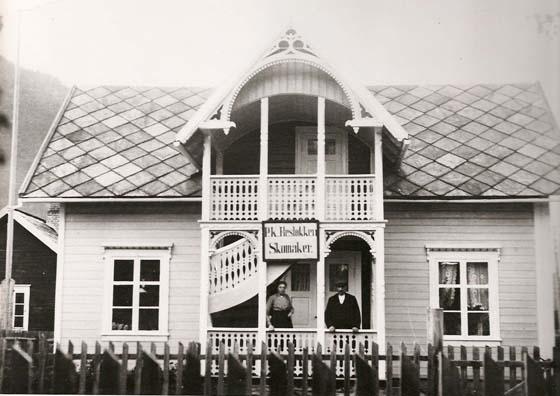 Skomaker Resløkkenst hus på Otta