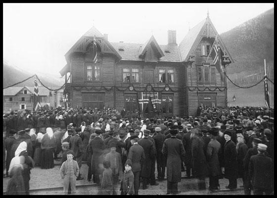 Otta jernbanestasjon 29. oktober 1896