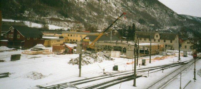 Jernbaneområdet i 1999.