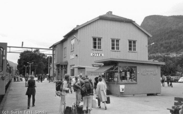 Otta jerbanestasjon 1975.