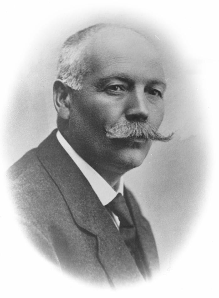 Lensmann Johannes Haugen på Otta (1873-1945).