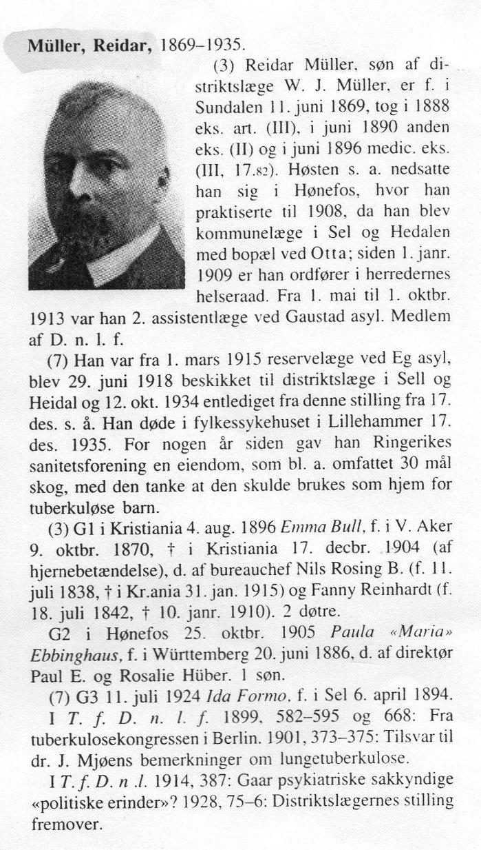 Faksimile Norges leger, Den norske legeforening 1996