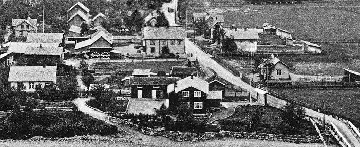 Otta 1911, Eben Eser til venstre.