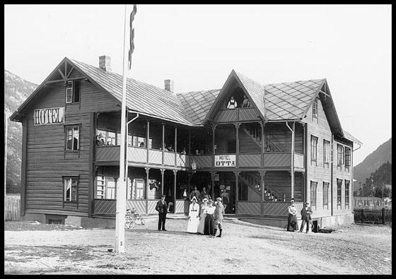 Otta Hotel - Kleverheim - i 1897.