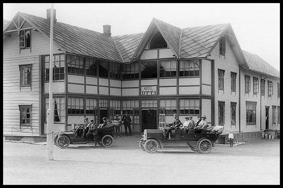 Otta Hotel - Kleberheim - 1915.