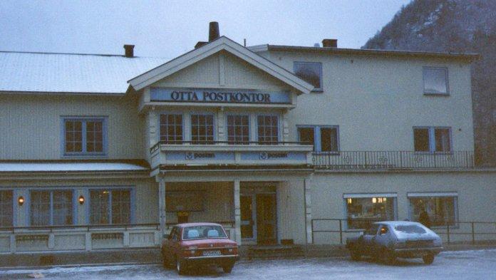 Otta postkontor på 1980-tallet.