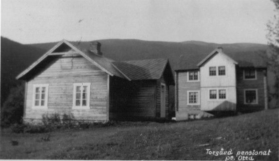 Postkort av Thorgård Pensjonat i Ottdalen. Utlånt av Liv Åshild Mathisen.