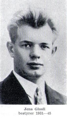 Jens Glosli, tidligere bestyrer Otta ysteri