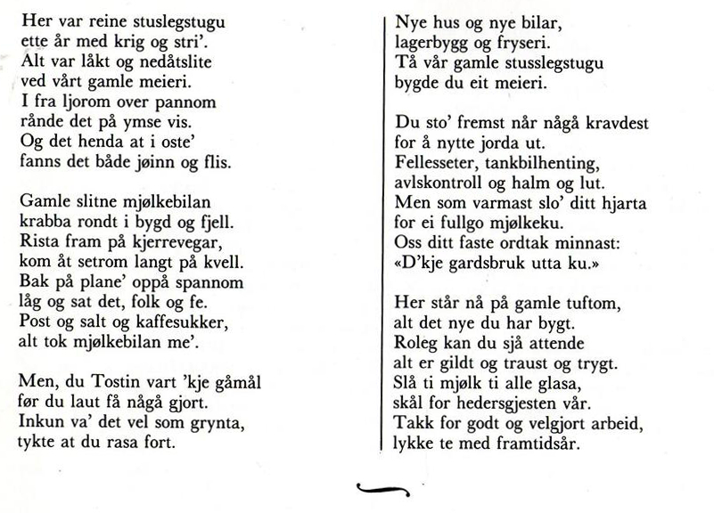 Dikt til Torstein Øiom